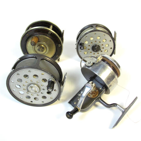 Two Farlow The 'Python' 4in. reels