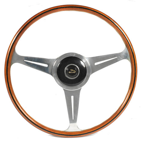 A Nardi three-spoke steering wheel, Italian, 1962,