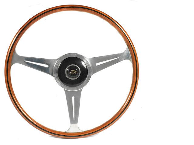 A Nardi three-spoke steering wheel, Italian, 1962,