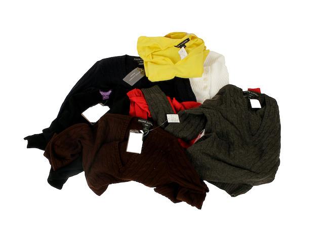 A quantity of Ralph Lauren knitwear