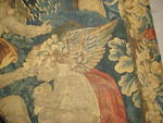 A Brussels early 18th century mythological tapestry, 476cm by 206cm