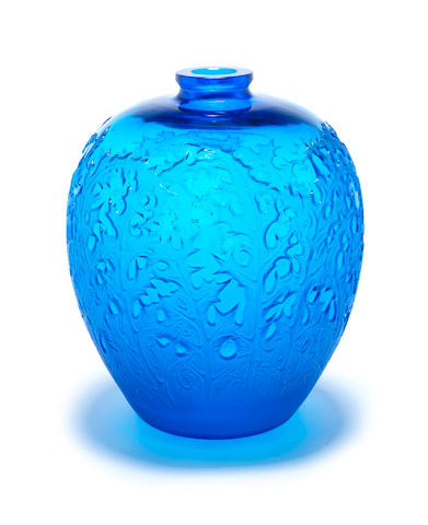 René Lalique  'Acanthes' a Vase, design 1921