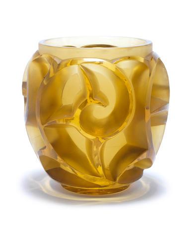 René Lalique 'Tourbillons' a Vase, design 1926