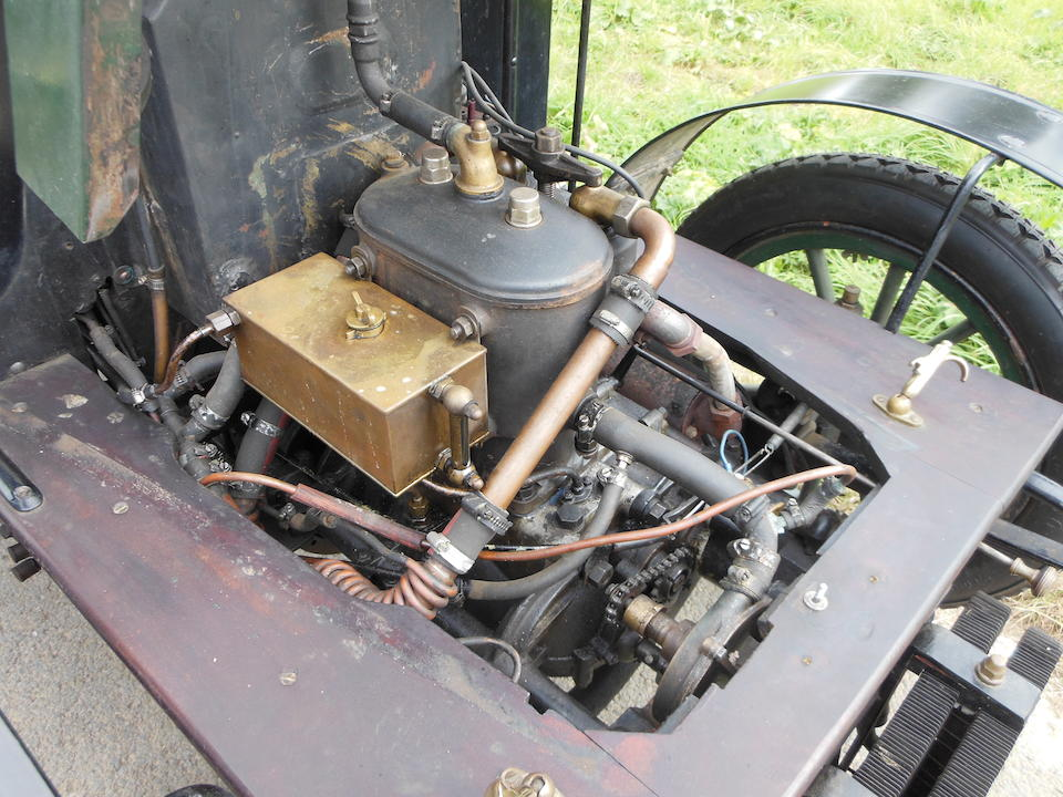 c. 1903 Barré Twin-Cylinder Four-seat Tonneau  Chassis no. 15690 (see text) Engine no. 104B