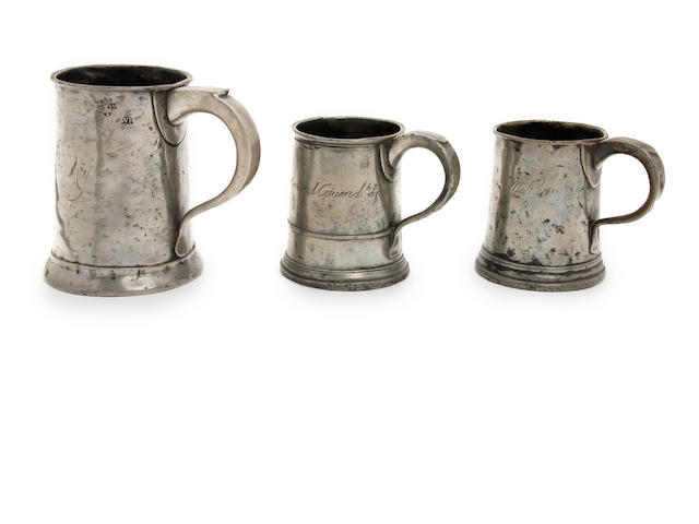 A Pre-Imperial quart straight-sided mug
