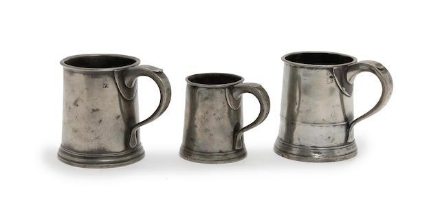 A Pre-Imperial pint straight-sided mug