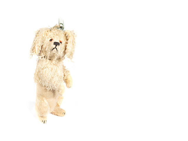 Schuco yes/no toy poodle, German 1920's