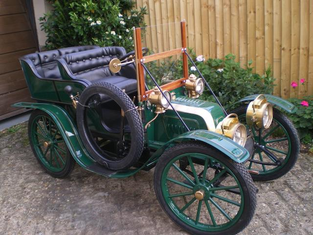 A superb half-size 1904 Talbot CT2K Rear Entrance Tonneau child's car,