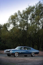 Left hand drive,1970 Chevrolet Chevelle Coupé  Chassis no. 136370B195509 Engine no. tba