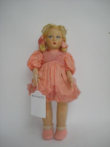 Lenci felt doll, Italian 1930's