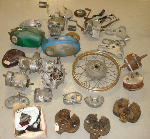 A quantity of BSA mechanical spares,