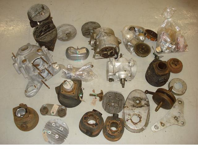 A quantity of AMC mechanical spares,
