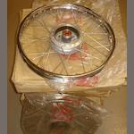 Eight n/o/s Honda wheels,