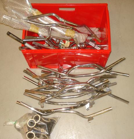 A quantity of handlebars,