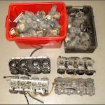 A quantity of assorted carburettors and spares,