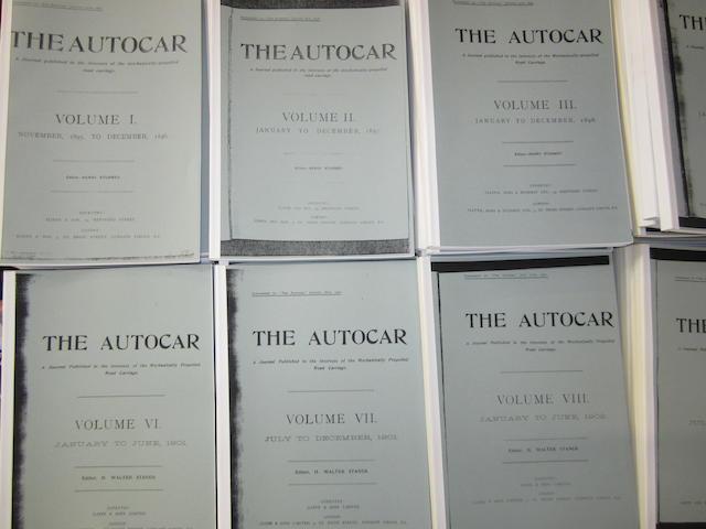 The Autocar, 1895-1905,