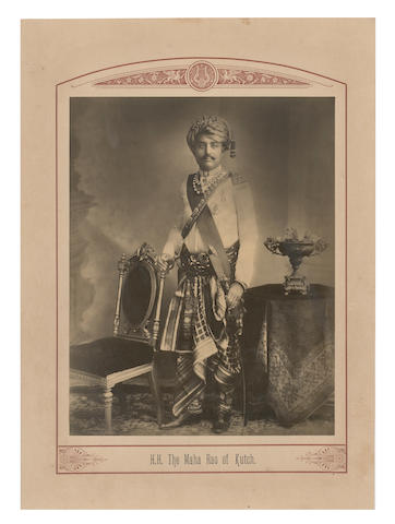 INDIAN PRINCES Princes and Chiefs of India, a collection of 74 portraits of princely rulers of India, [1903]