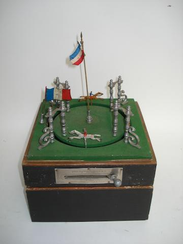 Jours-de-Course horse racing game, French early 20th century