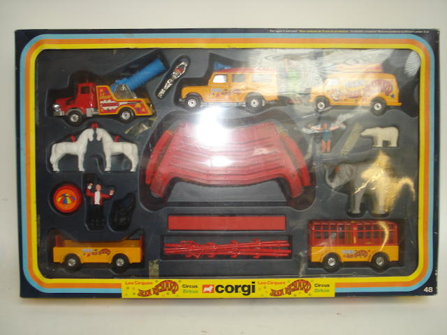 Corgi GS48 Jean Richie Circus set