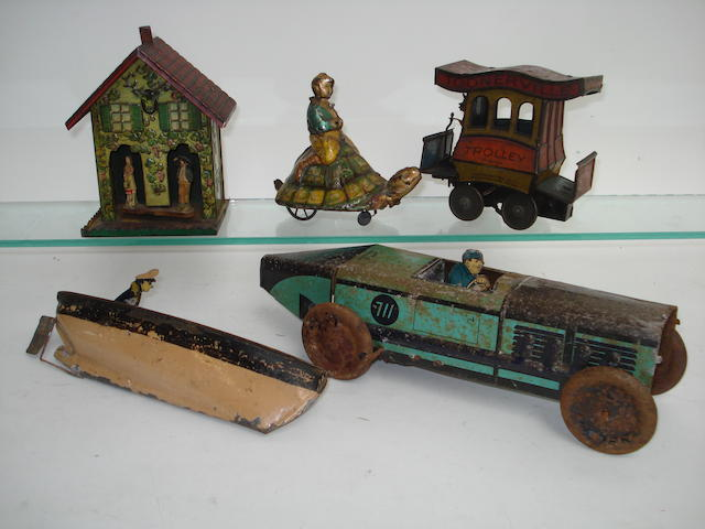 Various tinplate toys 5