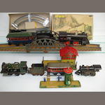 Karl Bub c/w train, other trains and accessories lot