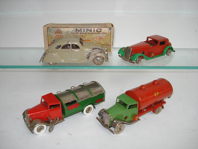 Tri-ang Minic trucks and cars 4