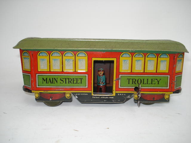 Nifty Main Street Trolley, German 1930s