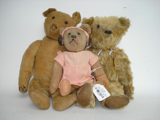 Stevans Teddy bear, English 1920's 3