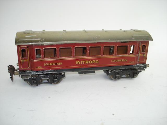 Marklin Mitropa 17530 Schlafwagen