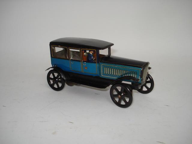 Wells tinplate c/w Limousine, 1930s