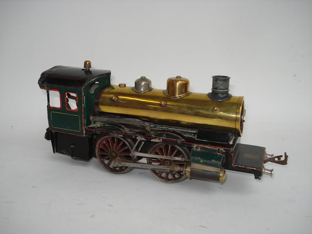 Bing gauge I live steam 0-4-0 locomotive, circa 1905