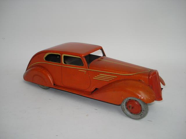 French tinplate c/w Streamline Saloon, 1930s