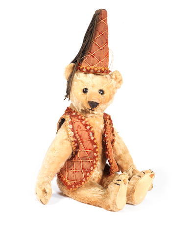 Rare Steiff PB Rod Teddy bear, 1904-05