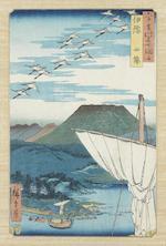 Ando Hiroshige (1797-1858) Mid 19th century