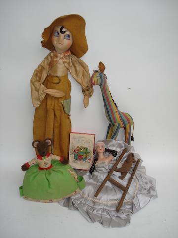 Teddy bear Tea-cosy, 1950's 6