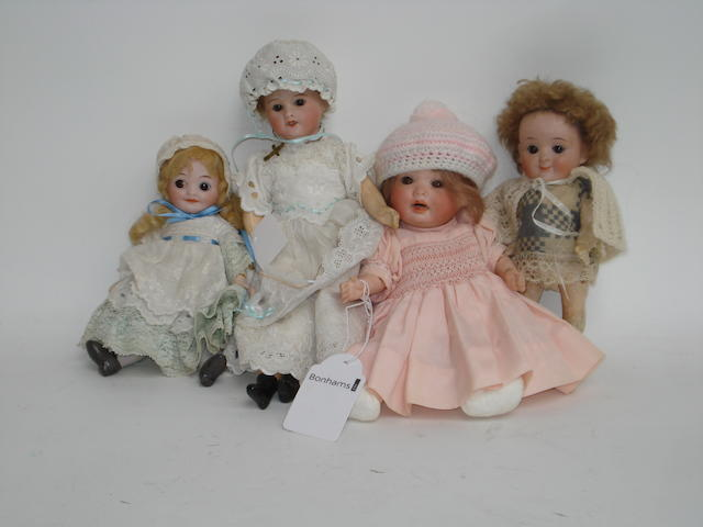 P.M 914 bisque head doll 4