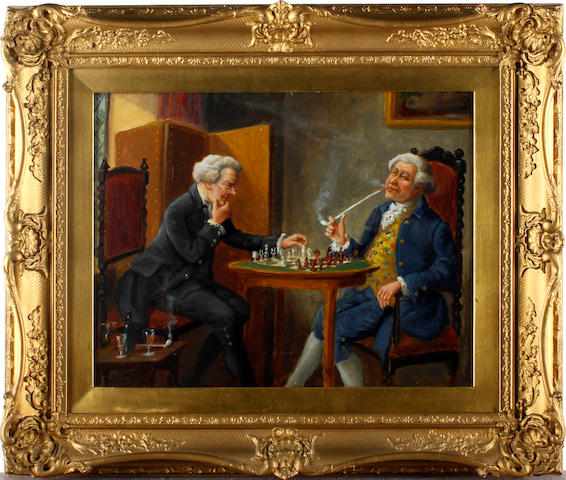 Alexander Austen (British) Chess players