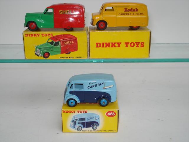 Dinky Delivery vans 3