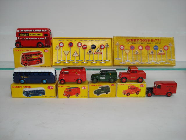 Dinky Buses, Royal Mail, Telephone and Police vehicles 7