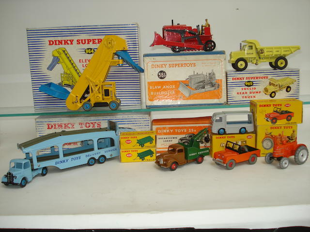 Dinky tractor, Commercials and others 11