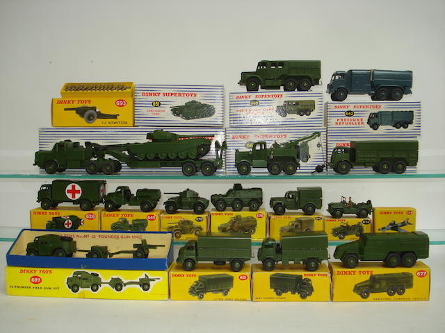 Dinky Military vehicles 21