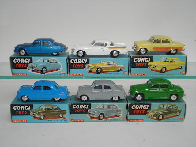 Corgi cars with flywheel motors 6