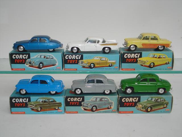 Corgi cars with flywheel motors 6