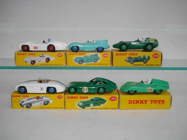 Dinky Racing cars 6