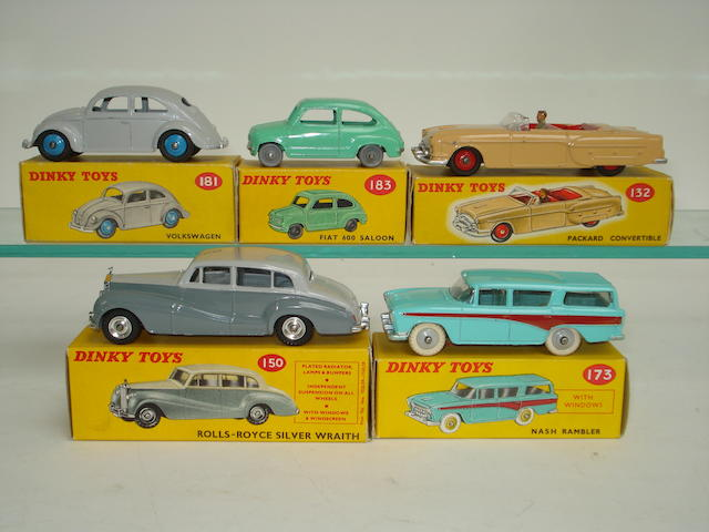 Dinky cars 5