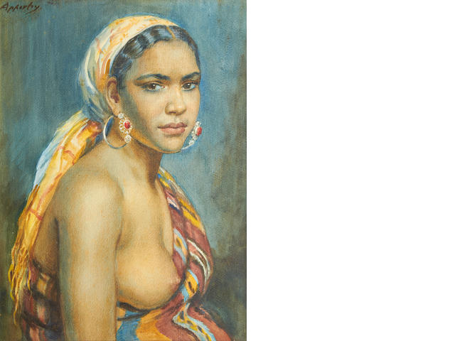 George Owen Wynne Apperley (British, 1884-1960) Aicha