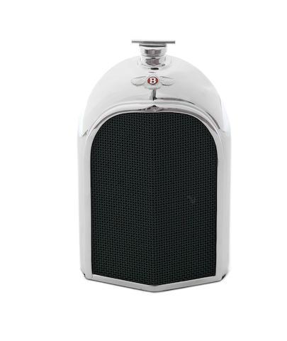 A Bentley radiator decanter by Ruddspeed,