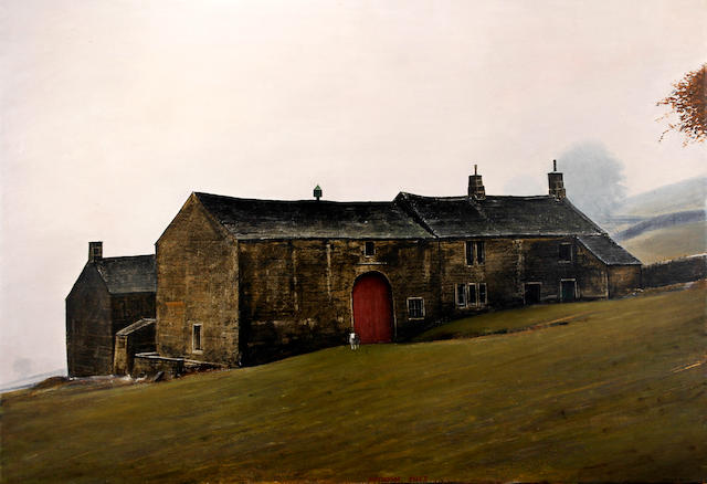Peter Brook (British, 1927-2009) 'Pennine Morning - Autumn Mist'