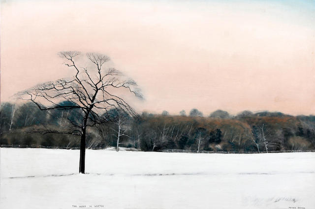 Peter Brook (British, 1927-2009) 'The Woods in Winter'