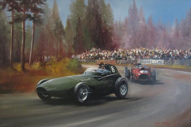 Dion Pears (1929-1985); 1958 German Grand Prix,